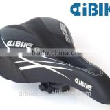 Taiwan made AiBIKE ergo black saddle for mini velo folding bicycle vintage bike saddles