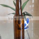 330ml pressure resistance qualified brown color glass beer bottle
