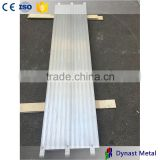 Hot sale for work platform Made in China Wuxi manufacturer 19 inch width all aluminum scaffold plank