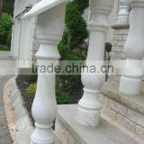 stair decorative marble stone hand rail balustrade