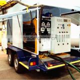 Outdoor/Indoor Mobile Type Waste Engine Oil Treatment Plant/Transformer Oil Restoration Equipment/Recycled Oil Machine