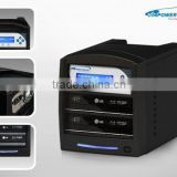 SharkBlu HDD:2 Blu-Ray / DVD / CD Stand-Alone Manual Tower Duplicator