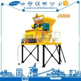 Self Loading Concrete Dry Mix Concrete Batch Plant With Concrete Mixer Truck Specifications