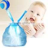 HDPE disposable scented diaper bag/plastic nappy bag/disposable nappy bags for baby