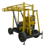 Good quality four-wheel trailer water well drilling rig