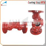 Custom best price hot selling iron cast valve drawing casting parts