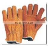 8'' - 10.5'' Length 7/10/13 gauge Cow/Pig split leather /Cotton/Polyester +PVC /PU Manufacturers goalkeeper glove