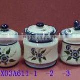 porcelain blue and white container