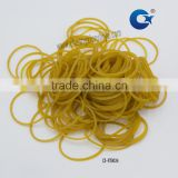small clear hair elastic rubber