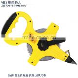 China ABS plastic frame 30m long measuring tape