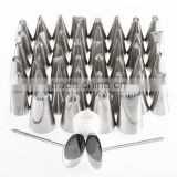 Pastry Fondant Cake Decorating Tools Sugar Craft Piping Noor Icing Nozzles Tips Set