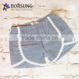New Style Summer Baby Clothes Girls Cotton Lace Shorts Wholesale Childrens Boutique Clothing For Baby Shorts