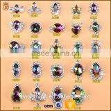 Nail art Flame Diamond Jewelry Colorful Nail Decorative Symphony Nail Drill