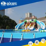 Inflatable Water Slide , Inflatable Slide The City for Crazy, inflatable long water slide