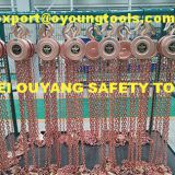 Non-Sparking Lifting Chain Hoist Block Cap 0.5-2 TON,Copper Beryllium ATEX FM Certificate Oil Gas Oilfield