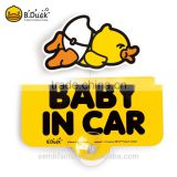 Hot sale car accessories baby in car on board car signs