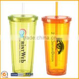 Novelty children plastic straw cup