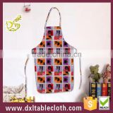 Fancy Printed waterproof anti oil plastic disposable kitchen apron