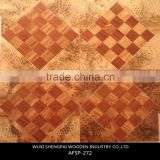 classical water-proof laminated engineered art parquet wood flooring with factory direct