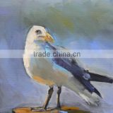 Cheap and Popular Item Handmade Pigeon Oil Painting on Canvas as a Gift for Famlies or Friends