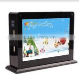 Fashionable double-side advertising mobile phone charger for restaurant , cafe and bars