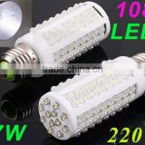 Ultra bright LED bulb 7W E27 220V Cold White or Warm White light LED lamp with 108 led 360 degree Spot light