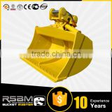 High Quality OEM Excavator Tilting Bucket for 1-80t excavator