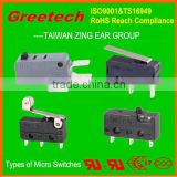 Water pump electron pressure, types of micro switches, zing ear china supplier