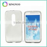 Mobile phone cover cellphone cover clear case ultra slim case for moto G3