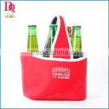 2014 Red Color Neoprene Bottle Holder with Simple Printing ,Promotion Products with Wholesale Price
