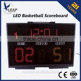 Hot Selling Outdoor Led Electronic Basketball Scoreboard For Game