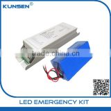 Emergency battery pack for 100W LED lighting with external driver tri-proof 100w led emergency tube fixture