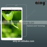 Ainy GOOD QUALITY tablet PC tempered glass,0.15mm corning glass 9h glass tempered for ipad 5,for ipad air,for ipad air 2