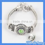 Hogift Wholesale DIY 18mm snap button Bracelet Charms Jewelry Free Shipping