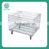 Good quality Storage Heavy Duty Folding Steel Wire Container
