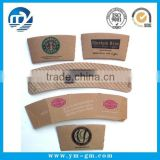 8oz,12oz,16oz,20oz kraft corrugated paper coffee cup sleeve manufacturer                                                                         Quality Choice