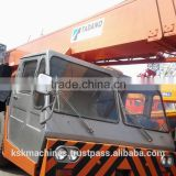 Used heavy equipment Used lifting machine Tadano mobile 50ton used tire crane TADANO TG-500E