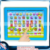 Cheap children toys Y-pad good music/light cheap spanish educational toys for kids gw-tys2921n