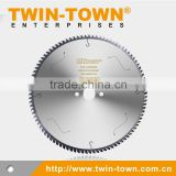 Thin Wall Profiles with Negative Hook Angle TCT Saw Blades