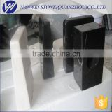 square& round black marble trophy base