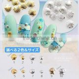 NEW 3D nail metal shell for nails / summer sea nail shell / 3D nail art decoration ZX:MD873
