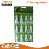 Jinyu factory price safe quick dry environmental strong viscosity plastic bottle 3g super glue 502