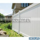 Hot Sale White Color PVC Fence Panel DP6x6-6078 Privacy Fence