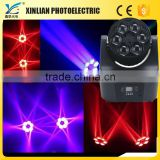 brackets orthodontics double beam led console dmx led 6pcs LED Moving head Beam Light