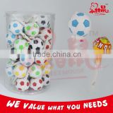 Football Whistle Lollipop Fruits Hard Candy