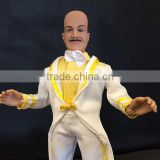 1/6 1/8 Collectible Custom Action Figures with Real Fabric Costumes Clothes