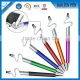 3 In 1 Hot Sale Phone Holder Ballpoint Pen , Plastic Touch Screen Digital Pen                                                                                         Most Popular