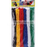 Supply 6pcs/bag jumbo chenille stems(pipe cleaner)
