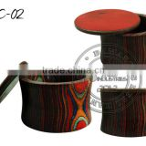 Wooden Shaving Bowl SC-02