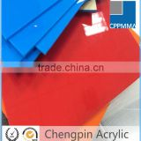 Zhejiang factory colored scratch resistant pmma acrylic sheet